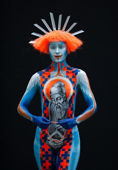 Austrian Body Paint Festival.. Awesome