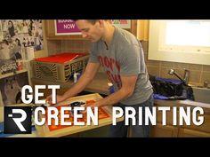 Kit de serigrafia DIY Print Shop | DESIGN on the ROCKS