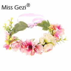 Find More Hair Accessories Information about 1pcs Handmade Floral Tiaras Wedding Bridal Hair Accessories Fabric Flower Crowns Woman Girls Flower Garland,High Quality accessories sony,China accessories pink Suppliers, Cheap flower girl wedding hairstyles from Hair's Art Online Wholesale Store on Aliexpress.com
