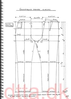 SYSTEM DTTA: PAGE 109 | Tailoring - patternmaking, cutting and sewing | THE DESIGN AND TECHNICAL TAILORING ACADEMY | TILSKЖRERAKADEMIET I KШBENHAVN (KBH)