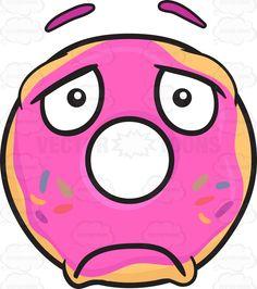 Sad Donut Looking Depressed Emoji #blue #bluesprinkle #candysprinkles #colorfulsprinkles #decoration #depressed #dispirited #donut #donutbar #donutglaze #donuthole #donutrecipe #donuteria #donuts #doughnut #down #downinthemouth #downcast #downhearted #fried #friedcake #glaze #greensprinkle #low #low-spirited #pinkglaze #redsprinkle #sinker #sprinkles #sugar #sweet #violetsprinkle #yellowsprinkle #vector #clipart #stock