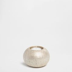 Striped Ceramic Tealight Holder - Tealights - Decoration - HOME COLLECTION SS15 | Zara Home Norge / Norway Zara Home, Tea Light Holder, Home Collections, Tea Lights, Candle Holders, Candles, Ceramics, Norway, Portugal
