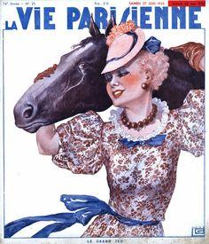 Georges Léonnec  (1881 – 1940). La Vie Parisienne, 27 Juin 1936. [Pinned 26-i-2015]