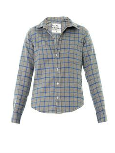 Barry large check shirt | Frank & Eileen | MATCHESFASHION.COM