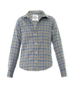 Barry large check shirt | Frank & Eileen | MATCHESFASHION.COM