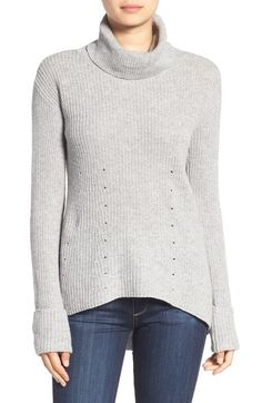 Chelsea28 Rib Knit Turtleneck Sweater available at #Nordstrom