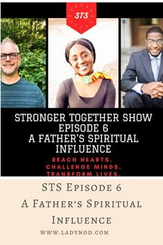 Fatherhood can be exciting and also overwhelming. Studies on family life and faith highlight the value of fathers modeling faith in action because children do learn who God is through their fathers' examples🙏🏽 My amazing guests joined me for an inspirational @strongertogethershow talk and shared their heart about their journey and their father's influence✨You can watch the raw talk on YouTube and on the blog and don't forget to subscribe to our channel 🙌🏽 #St