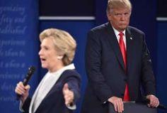 Image copyright                  Getty Images                  Image caption                                      En el segundo debate presidencial, Donald Trump y Hillary Clinton ya no estaban detrás de un atril, sino caminando y recibiendo preguntas de los moderadores y el público.                                Los debates presidenciales en Estados Unidos s