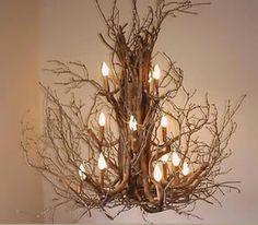 branches chandelier