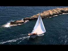 VIDEOTECA TodoRegatas:  La Illes Balears Classics 2014 a vista de pájaro