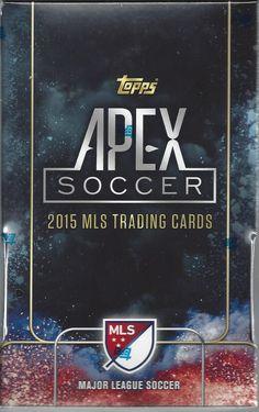 Topps Apex Soccer Trading Card Box 2015 Major League Soccer MLS Soccer Topps