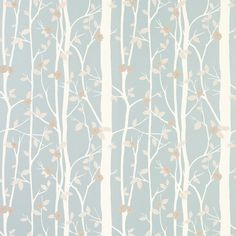 papel de pared cottonwood azul verdoso