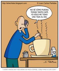 Sólo una taza de café al día