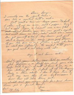 Old Fashioned Bean Soup Recipe,   from Mother to a Daughter handwritten recipes - Google Search