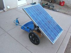 Portable Solar Generator on a Bike Trailer for Burning Man : 4 Steps (with Pictures) - Instructables