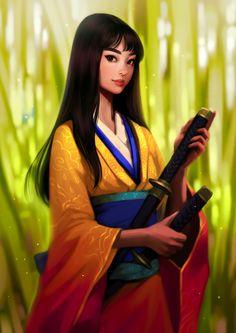 Shinobu, Svetlana Tigai on ArtStation at https://www.artstation.com/artwork/LOOBR