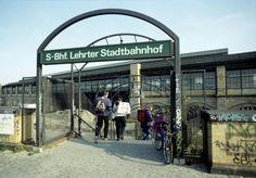1983 Berlin Lehrter Stadtbahnhof