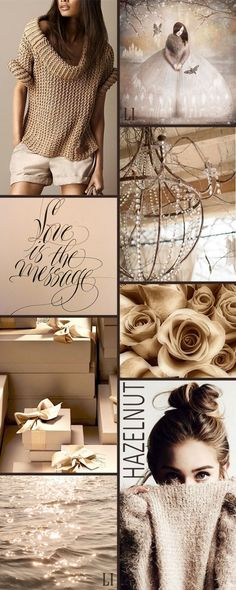 Pantone Hazelnut ღ Lu's Inspiration Colour Pallete, Colour Schemes, Color Trends, Color Patterns, Color Combinations, Color Palettes, Pinterest Trends, Pale Dogwood, Mood Colors