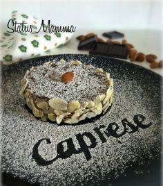 Torta caprese al cioccolato e mandorle ricetta dolce