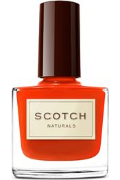 Scotch Naturals Water Colors Nail Polish, No formaldehyde, acetates, or other nasty chemicals. Fun colors, funny Scottish names. Vegan. Cruelty-free. Gluten Free. Fragrance Free. Toxin Free. Paraben Free. Hypoallergenic. Biodegradable.