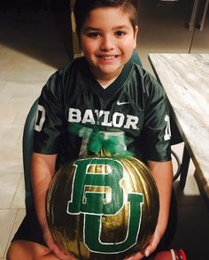 Baylor pumpkin! Yes!