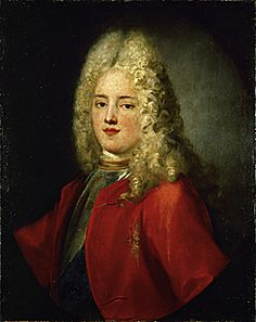 King August III of Poland (1696-1763). Oil on canvas
