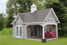 Governor's Series: Cottage, Pool House & Grand Victorian: The Barn Yard & Great Country Garages