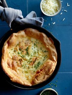 Herb and Cheese Dutch Baby