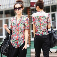 Cheap Blouses & Shirts on Sale at Bargain Price, Buy Quality women cotton shirt, shirt womens, women tee shirt from China women cotton shirt Suppliers at Aliexpress.com:1,Clothing Length:Regular 2,Collar:Stand 3,Fabric Type:Chiffon 4,Decoration:Lace 5,Style:Casual
