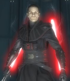the new and improved sith lord starkiller