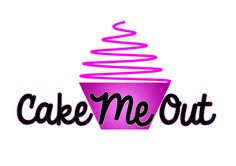 Create a logo for a local cake shop called CakeMeOut