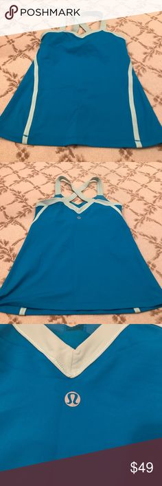 Lululemon workout top great condition Lululemon workout top great condition lululemon athletica Tops Tank Tops