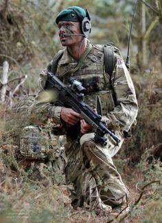 Royal Marine Commandos look hardcore