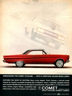 1964 Mercury Comet Cyclone .