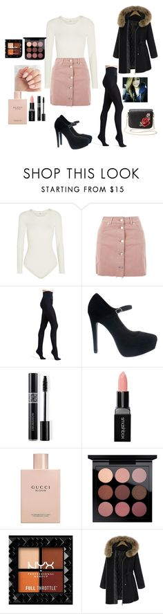"""""""WEDDING MUZEUM"""" by reka15 on Polyvore featuring Wolford, Topshop, Commando, Christian Dior, Smashbox, Gucci and Charlotte Russe"""