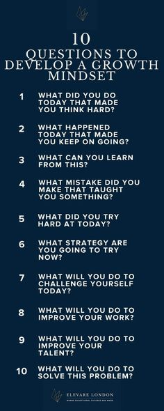 A growth mindset is an essential tool for a resilient, successful child. Teach them how to develop one wit these leading questions, to be answered in a family activity, a journal, or any other way your children like to express themselves! Self Development, Personal Development, Personality Development Activities, Coaching Personal, Personal Trainer, Self Improvement, Self Help, Stress, Money Saving Tips