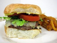 Hamburger Recipes : Salsa Burgers