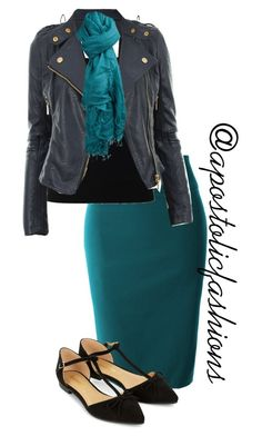 """""""Apostolic Fashions #1167"""" by apostolicfashions on Polyvore featuring LE3NO, T By Alexander Wang, Accessorize and Faliero Sarti"""