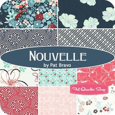 Nouvelle Fat Quarter BundlePat Bravo for Art Gallery Fabrics - Fat Quarter Bundles | Fat Quarter Shop