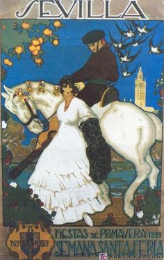 1921 #FeriaDeAbril #Andalucia #Spain