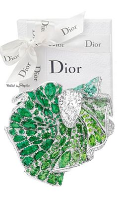 Rosamaria G Frangini | High Green Jewellery | Dior by Regilla ⚜ Una Fiorentina in California