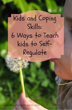 Angry kids? Anxious kids? Teach kids to self regulate and manage emotions with Coping Skills #ParentingSkills