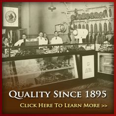Rudolph's Meat Market is in the same location for over 100 years!  Love to go in and watch them at work!