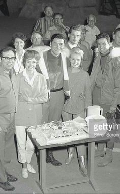 Cast BTS Shot