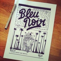 Bleu Noir © - Franck Pellegrino