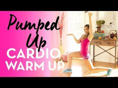 Pumped Up Cardio Warm Up! (Easy, fun, at home workout) - YouTube #fitness #workout #blogilates