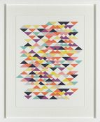 Geo Tri Print - Buy wall pictures at London art gallery Framed Prints Online, Wall Art Prints, Poster Prints, Posters, Trending Art, Buy Gifts Online, London Art, Affordable Art, Large Prints