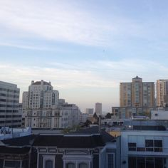 View from new apt in Pacific Heights