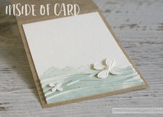 By Teneale Williams | Swirly Scribbles Thinlits and Botanical Builder Framelits | Inside design of card