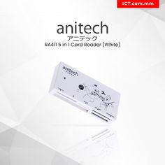 Buy Anitech 5 in 1 Card Reader (White) at Online Tech Retailer in Myanmar - Yangon, Mandalay & all cities. Credit Card & MPU are welcome! Card Reader, Coding, Cards Against Humanity, Shop, Programming, Store